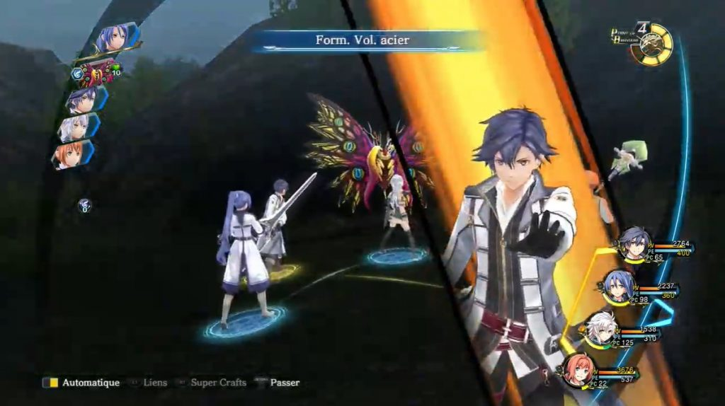 Trails of Cold Steel III Ordre