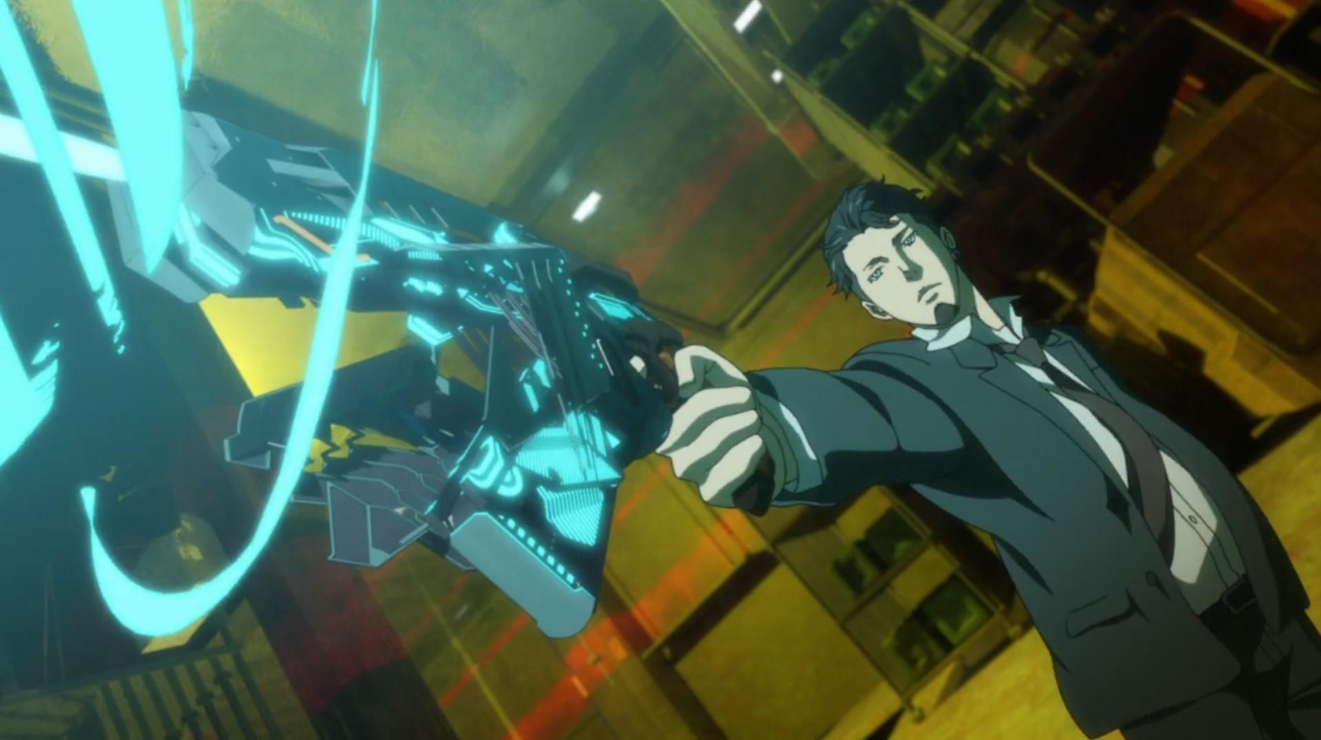 Psycho Pass 3 Irie Kazumichi Dominator