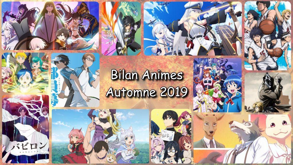 Bilan Anime Automne 2019