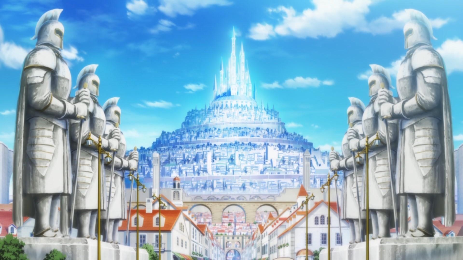 Infinite Dendrogram anime city