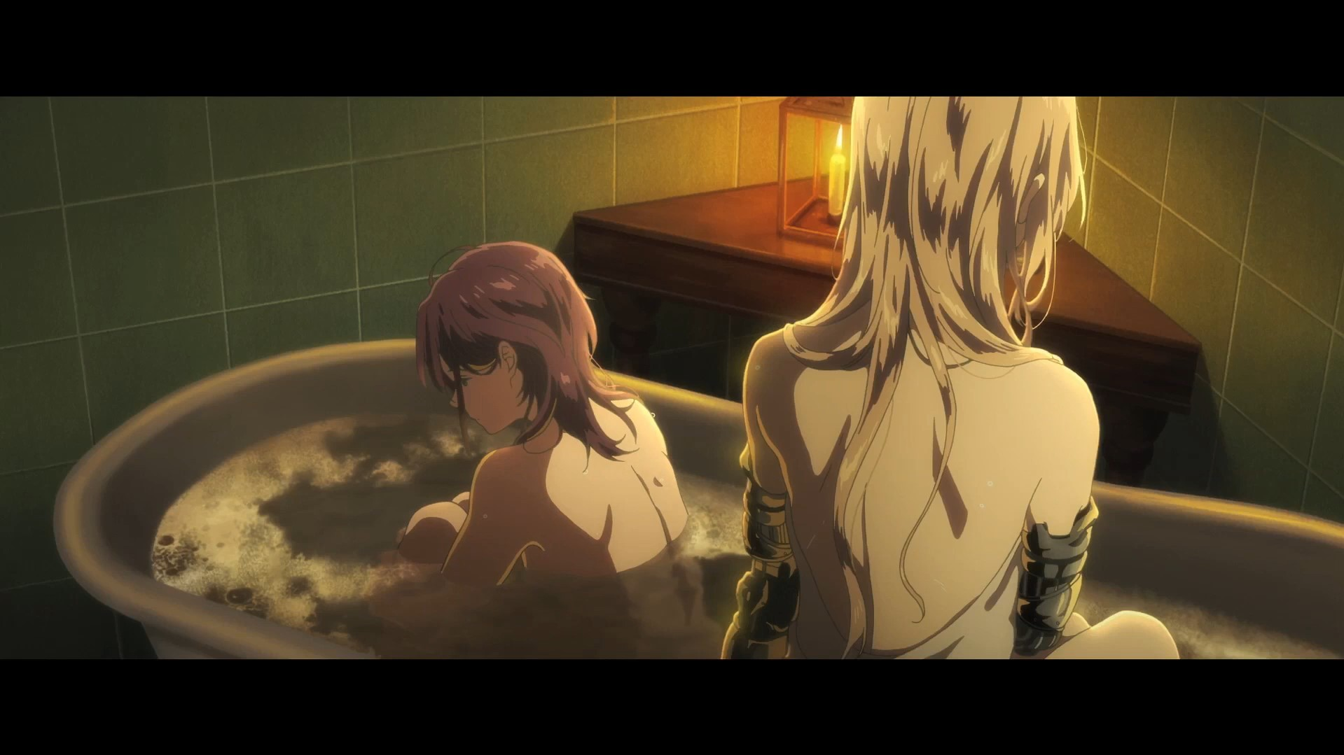 Violet Evergarden Film Gaiden Bath