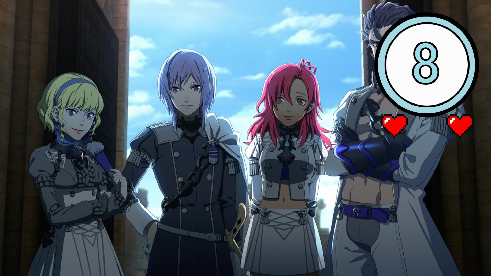 Test - Fire Emblem Three Houses Ombres Embrasées