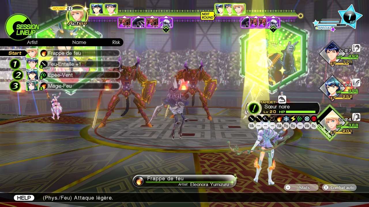 Tokyo Mirage Sessions FE Encore Fight 3