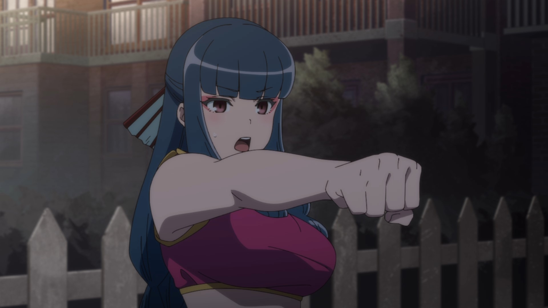 Appare-Ranman Xia Lina Fight