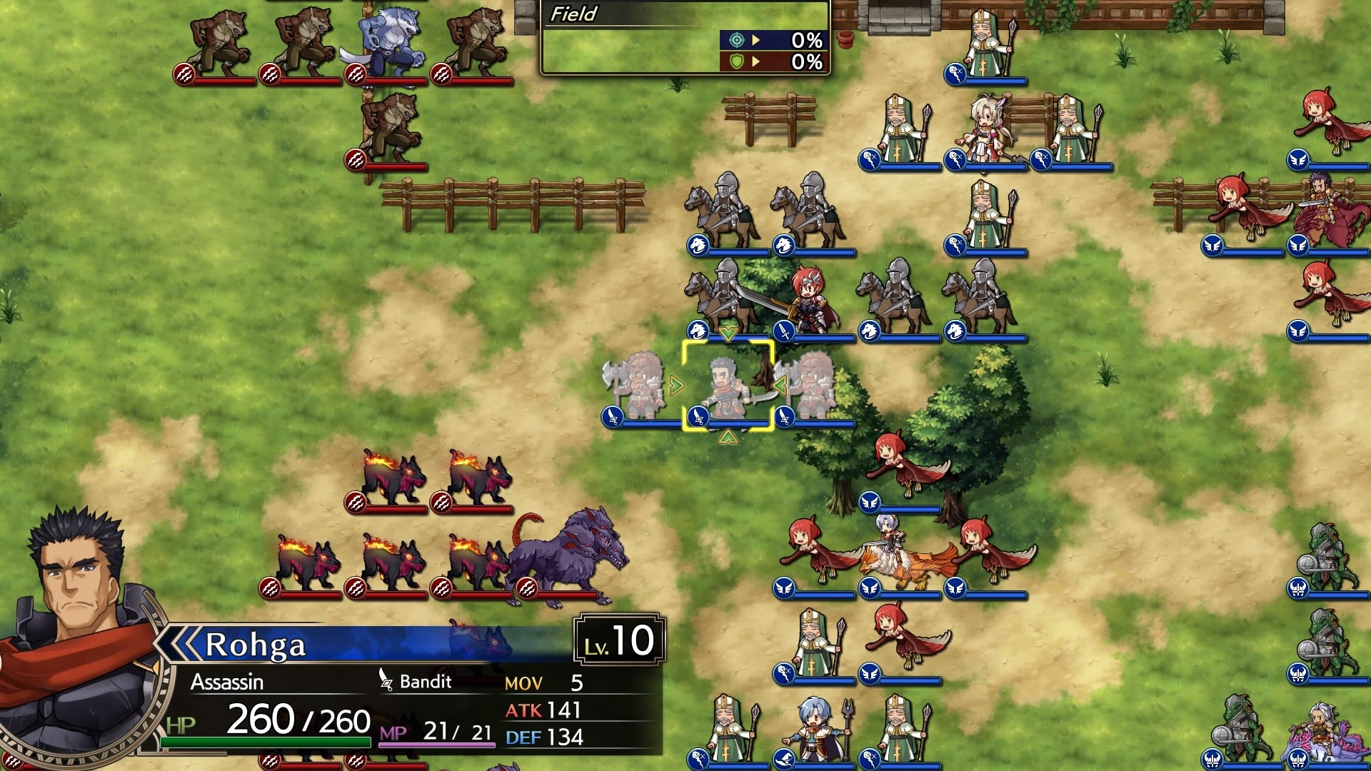 Langrisser I & II Map Remastered