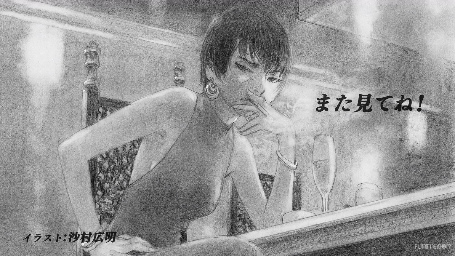 Nami yo Kiitekure Episode 02 Endcard Samura Hiroaki