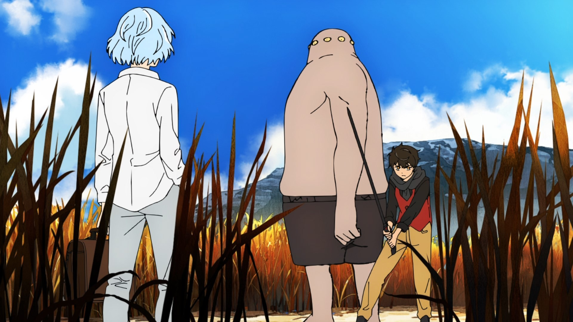 Tower of god compositing monstre