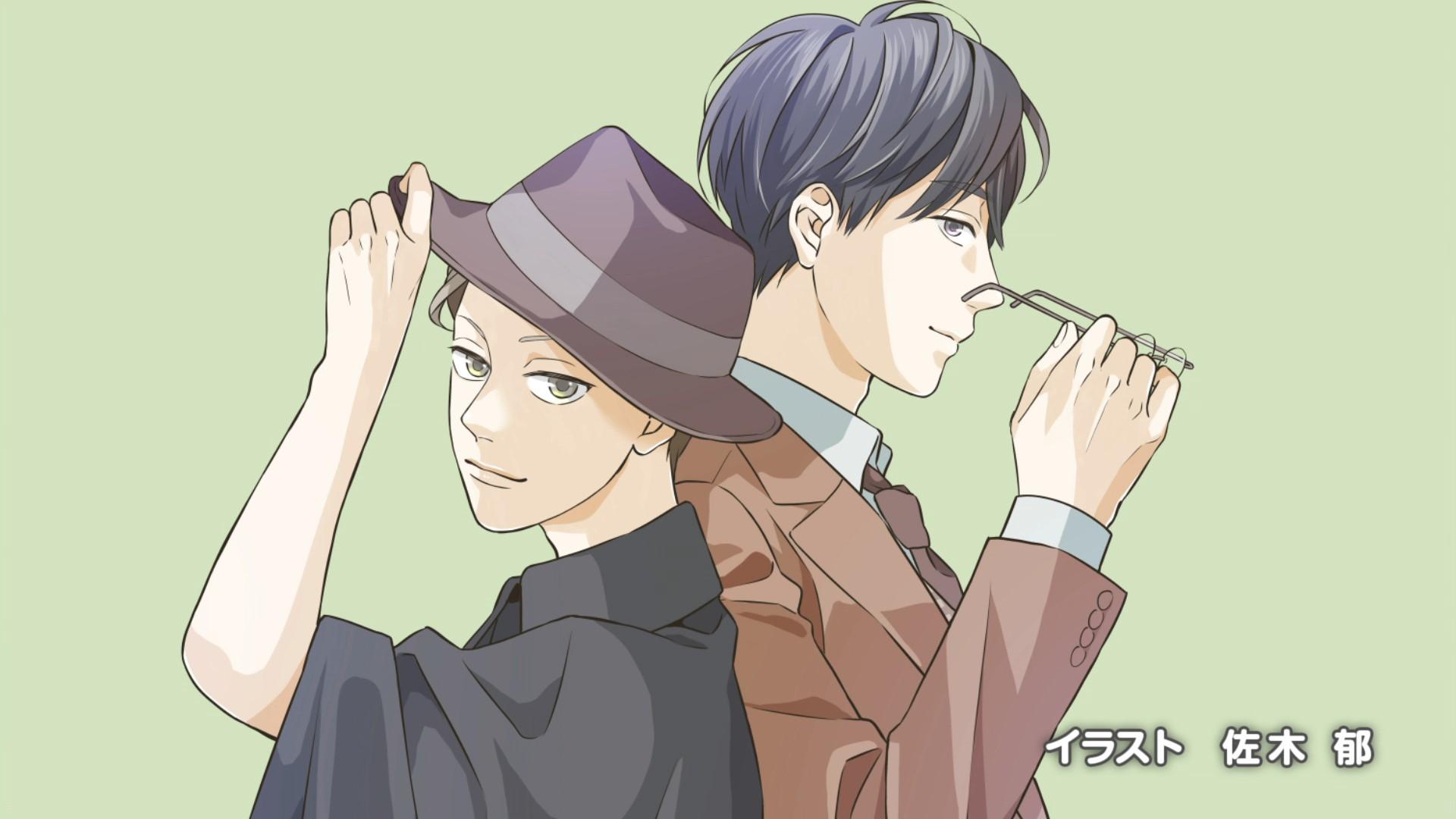 Woodpecker Detective's Office Episode 1 Endcard Saki Kaoru