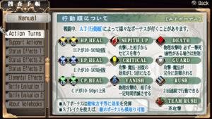 Ao no Kiseki Action Turn