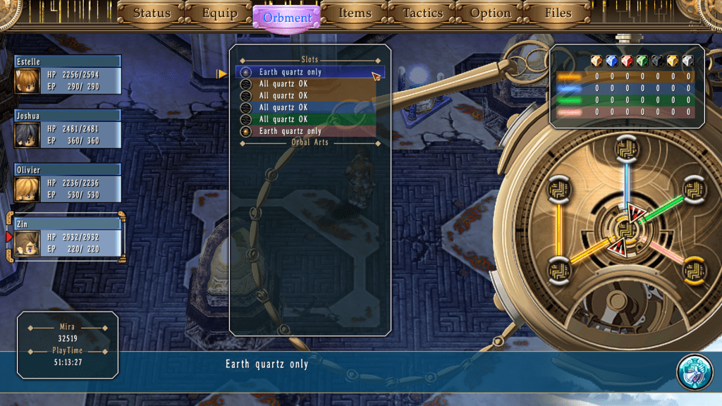 The Legend of Heroes Trails in the Sky Zin