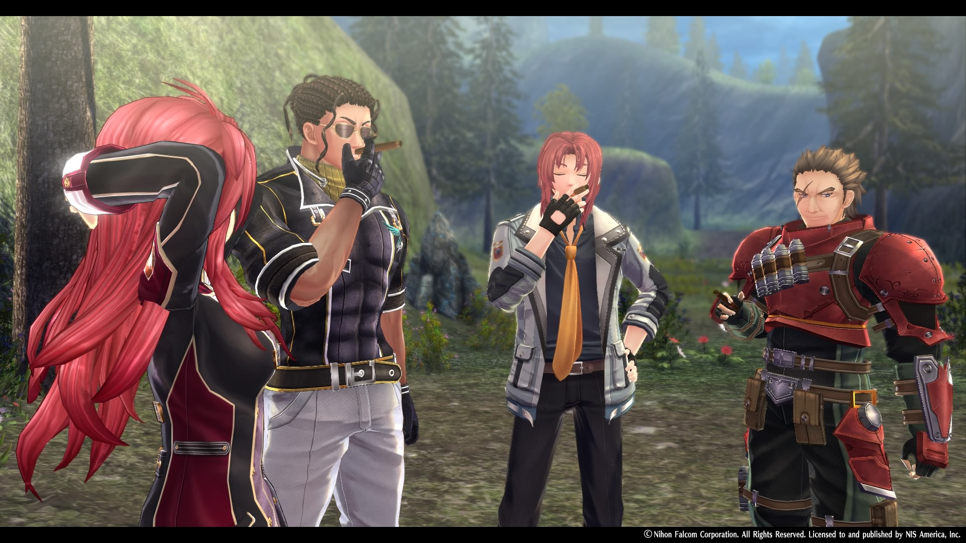 The Legend of Heroes: Trails of Cold Steel IV smoke