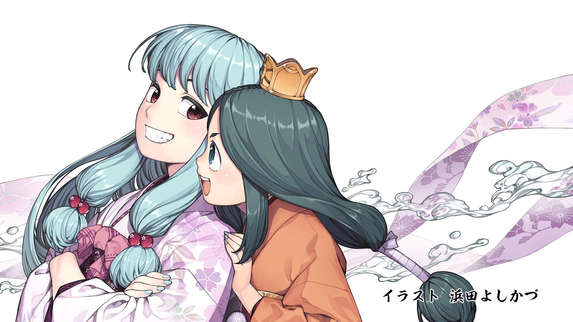 Tsugumomo Episode 12 Endcard Yoshikazu Hamada