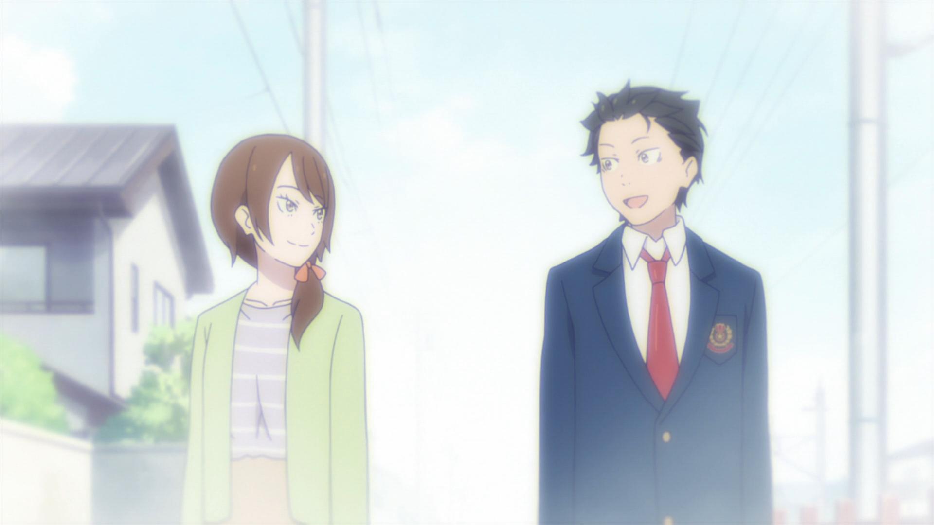 Natsuki Naoko and Subaru ReZero