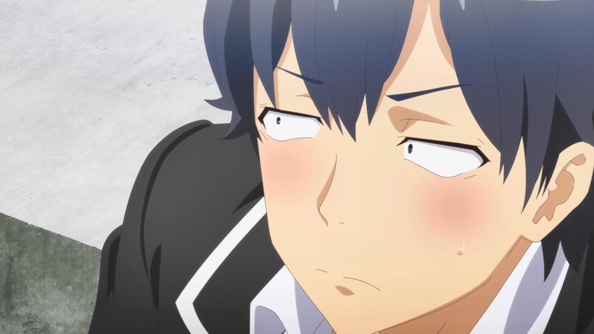 Oregairu Kan #3 Hachiman gêné