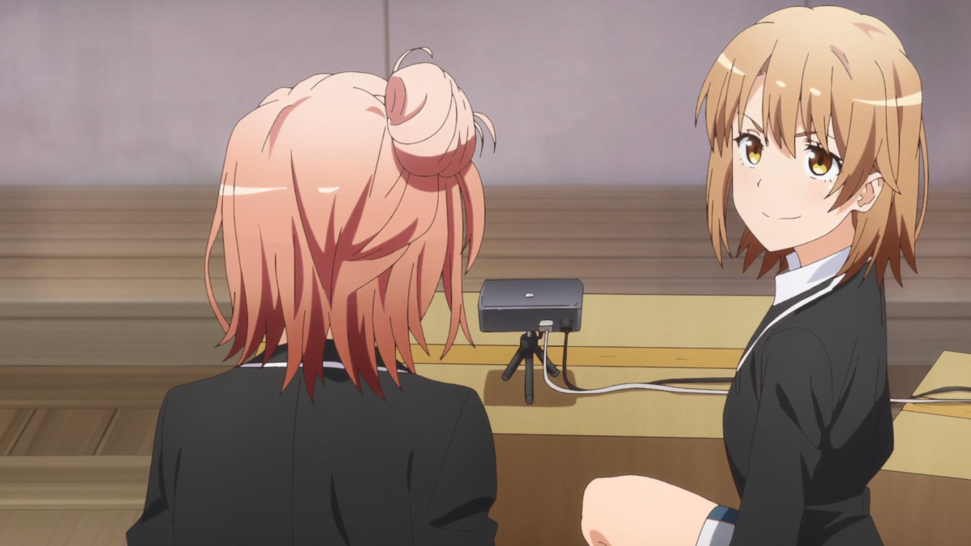 Oregairu Kan_episode 2 Iroha club film