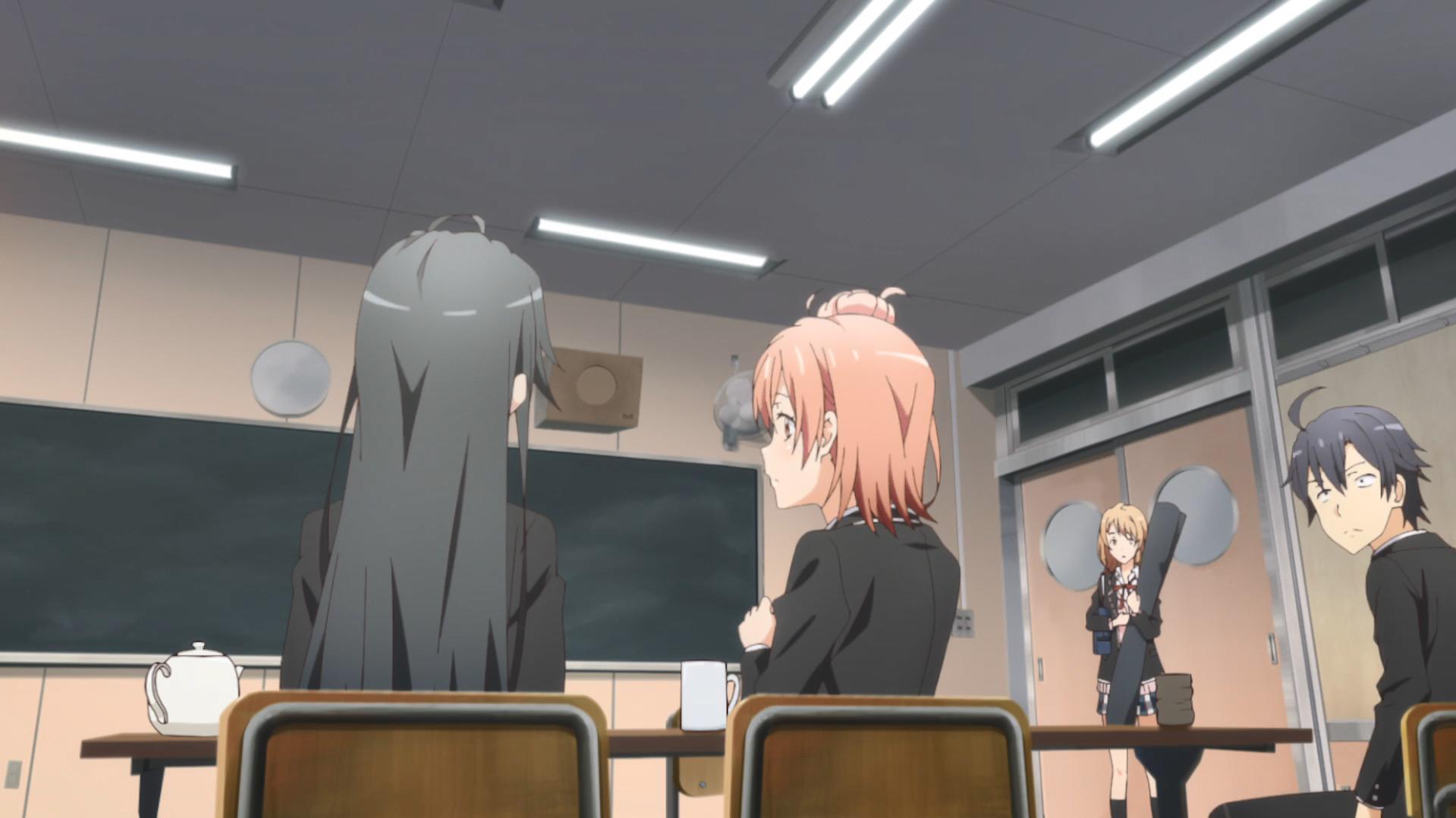 Oregairu Kan_episode 2 Iroha confrontée Yukinon