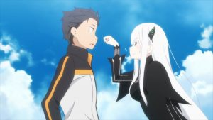 Re Zero S2 Echidna and Subaru