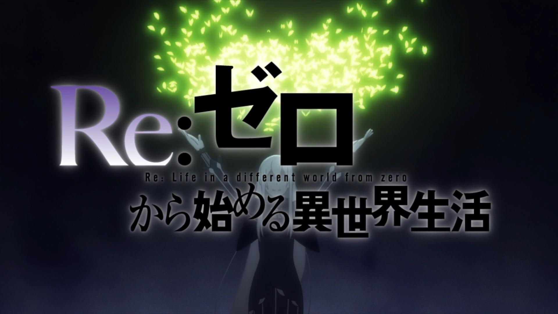 Re Zero S2 Opening