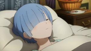 Re zero S2 Rem sleep