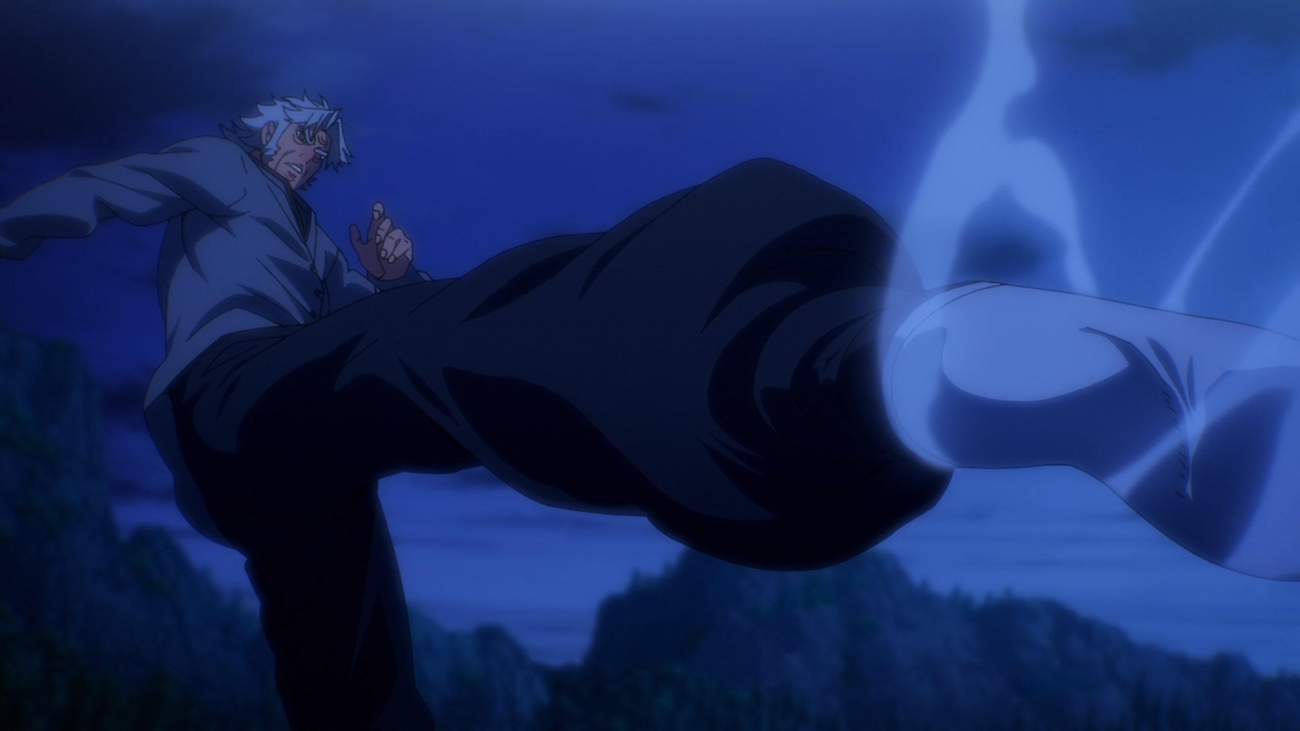 grand father Mori fight
