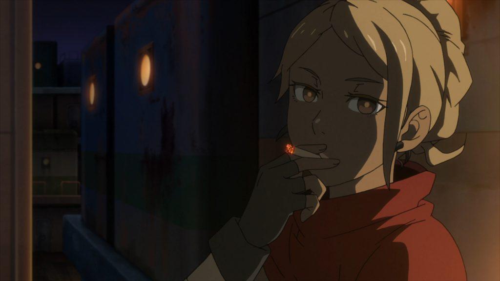 Deca-Dence 04 Kurenai smoke