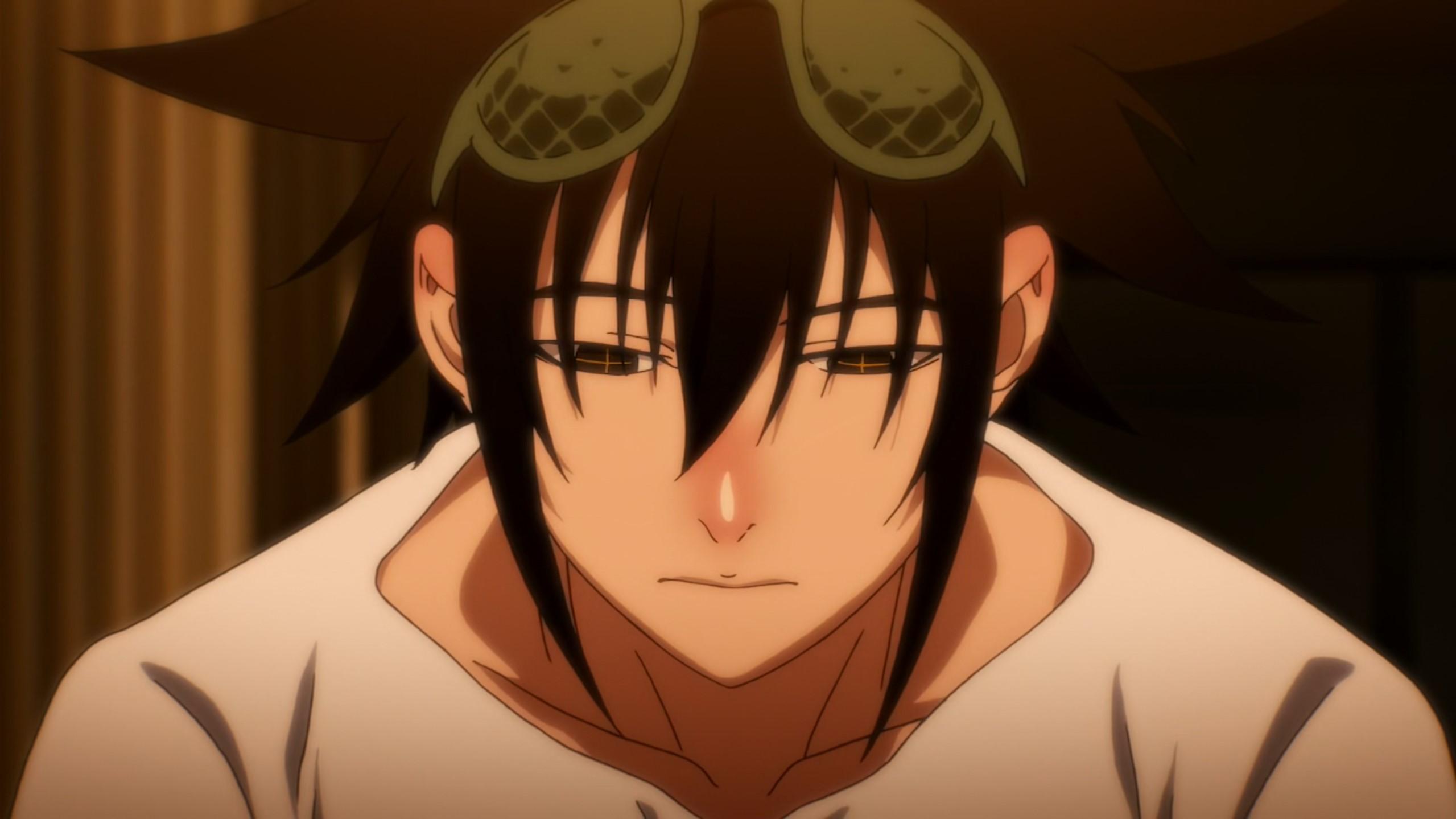 Mori triste the god of high school