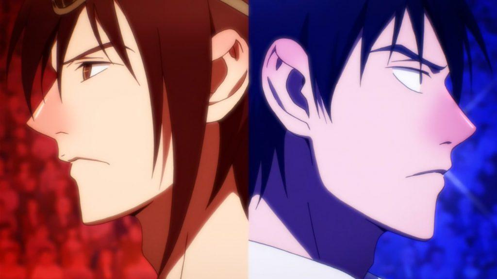 Mori vs Dae The God of High School