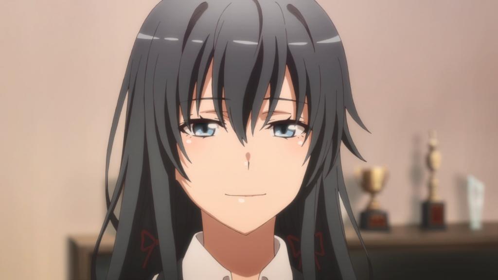 Yukino sourire triste snafu saison 4