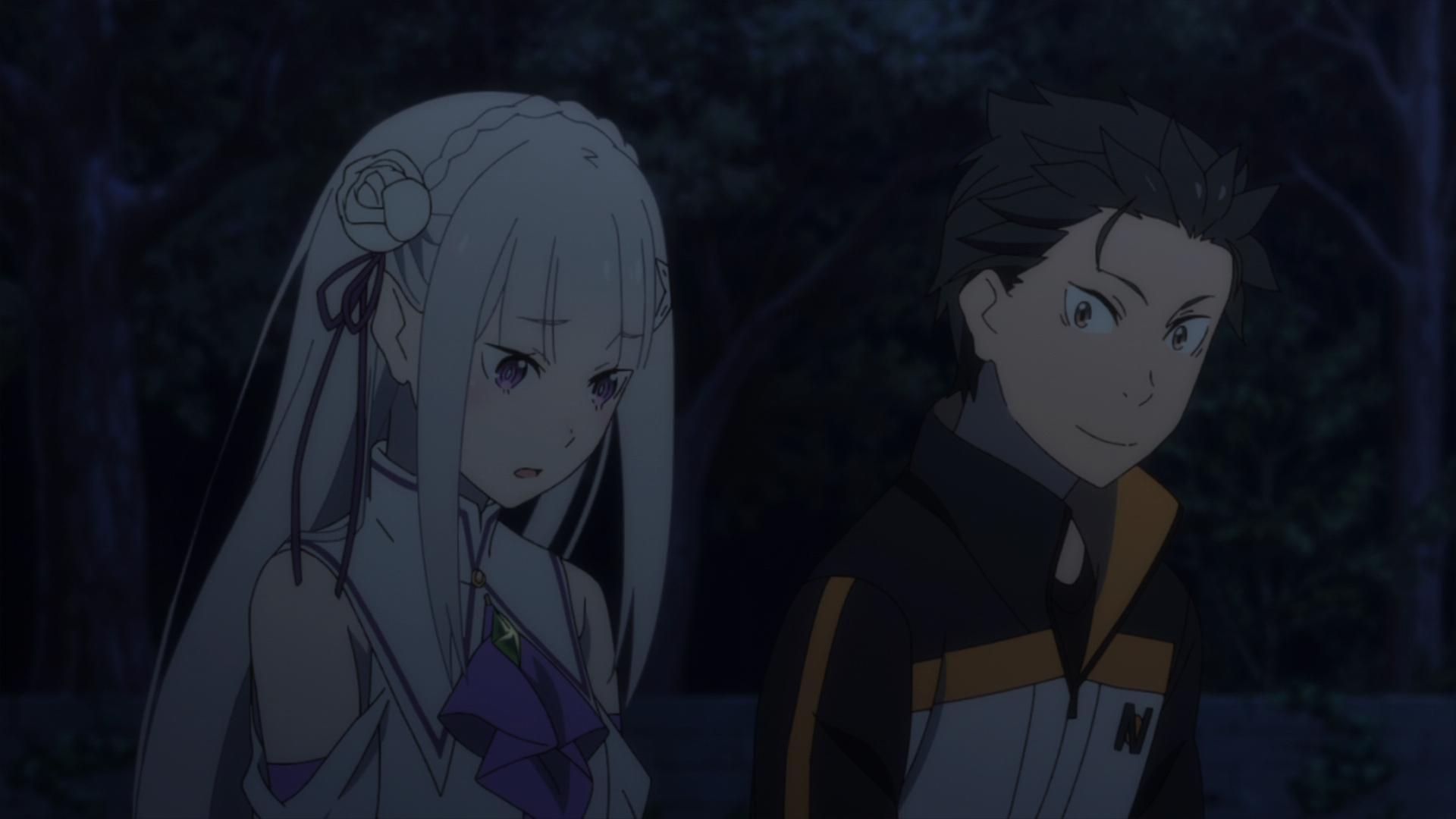 Re Zero 2 Emilia and Subaru