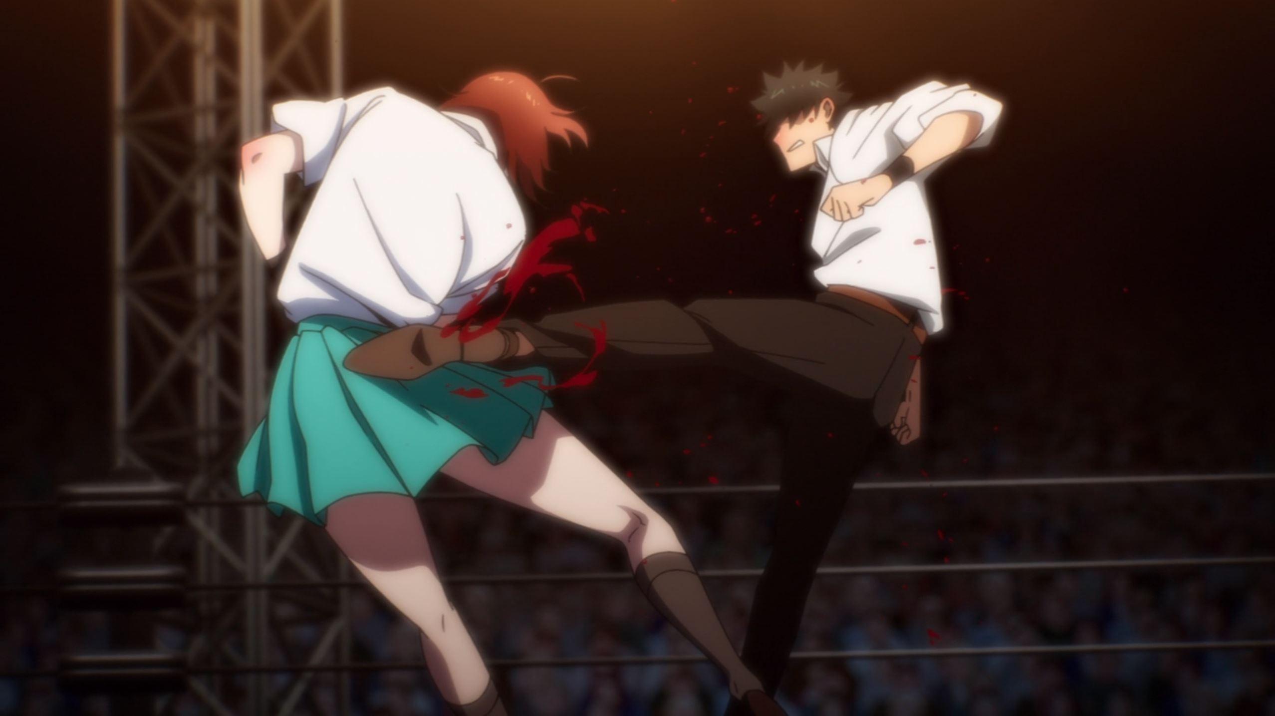 The God of high school Mira vs Dae