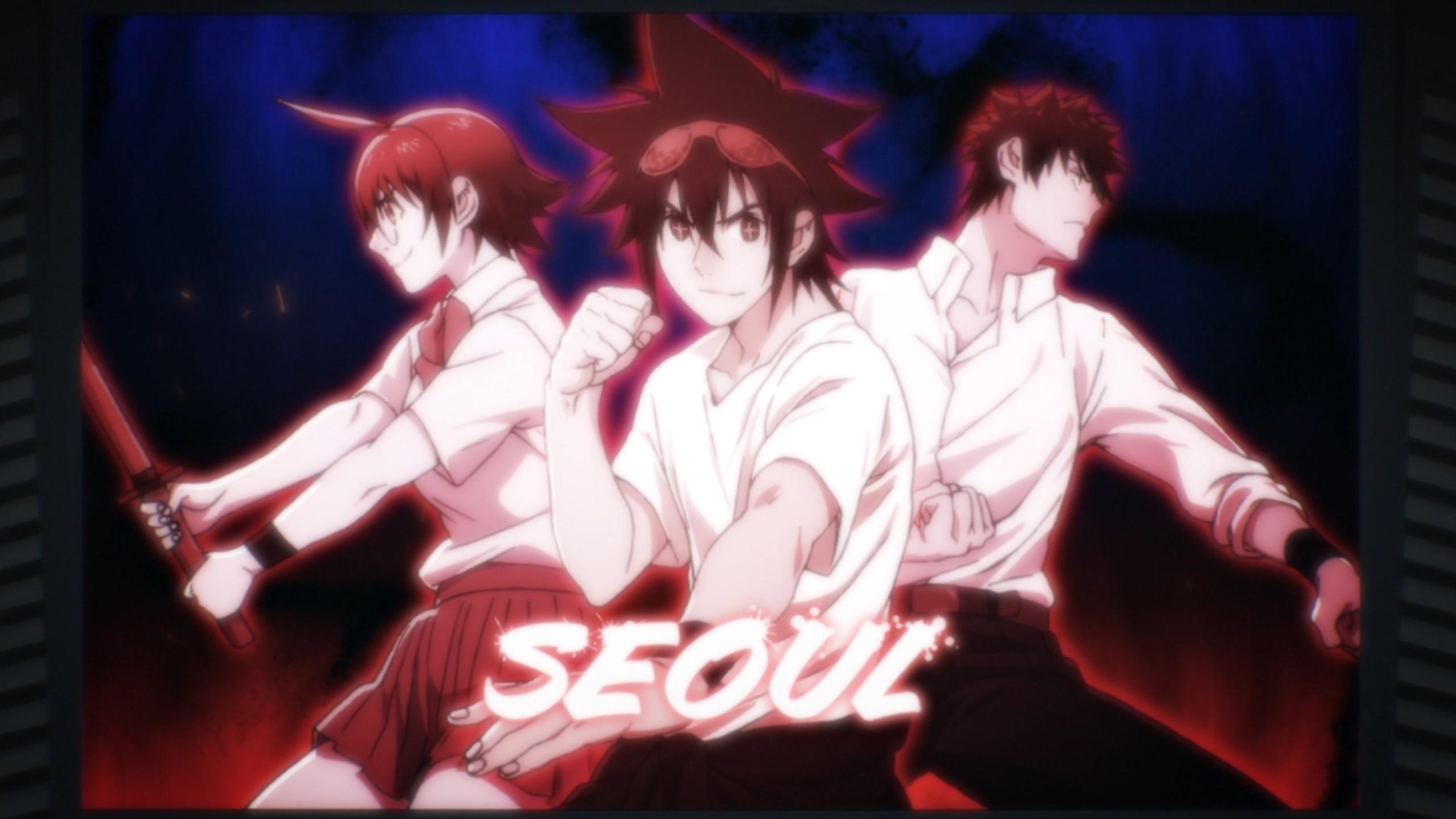 Team Séoul the god of high school