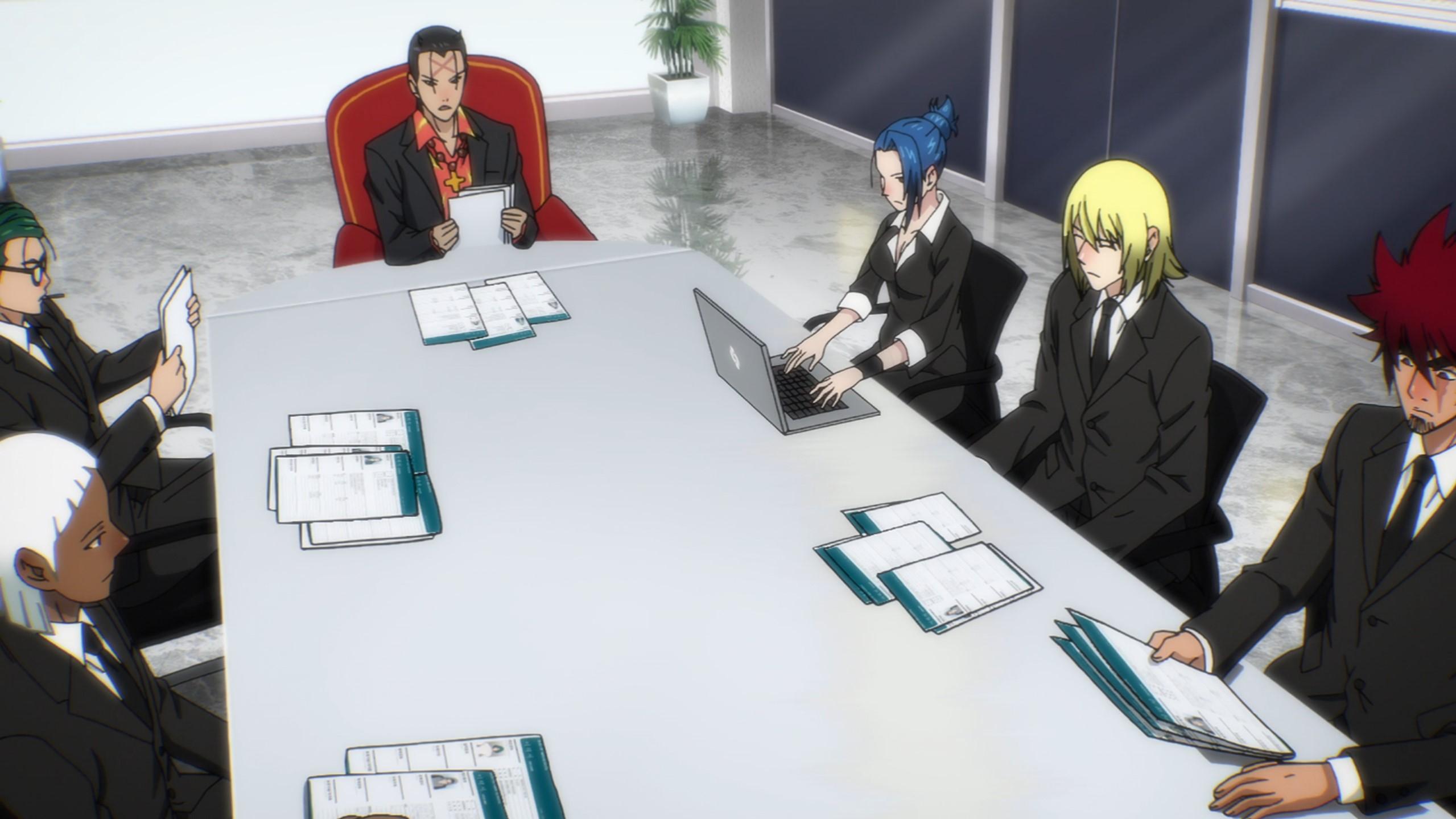 réunion the god of high school episode 6