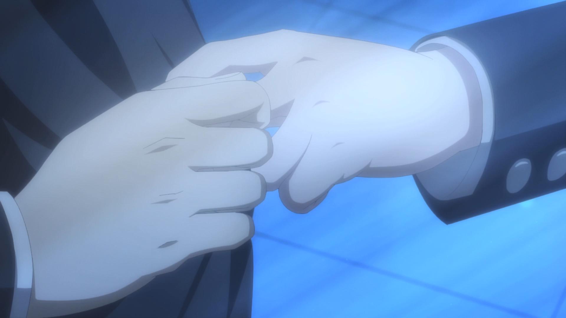 Oregairu kan episode 10 Hachiman-Yukino main uniforme 1.5