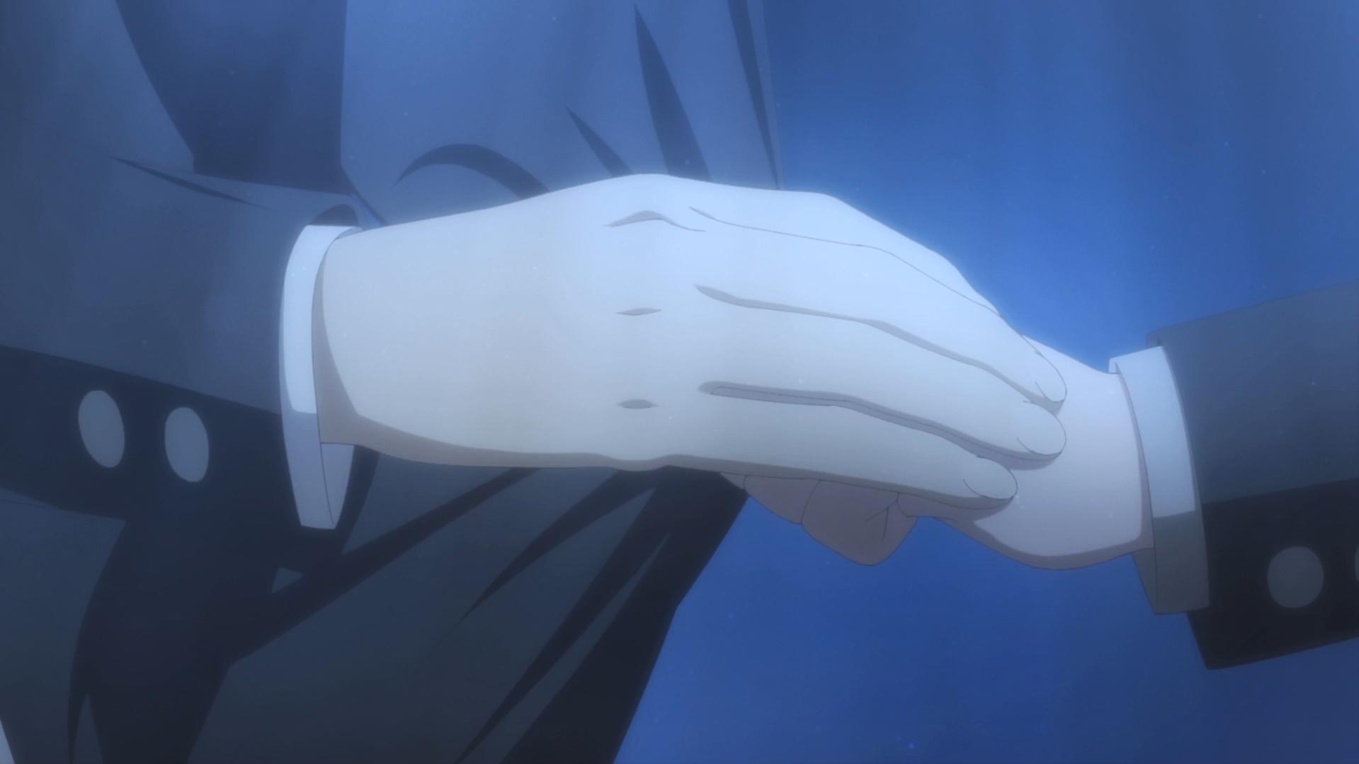Oregairu kan episode 10 Hachiman-Yukino main uniforme 1