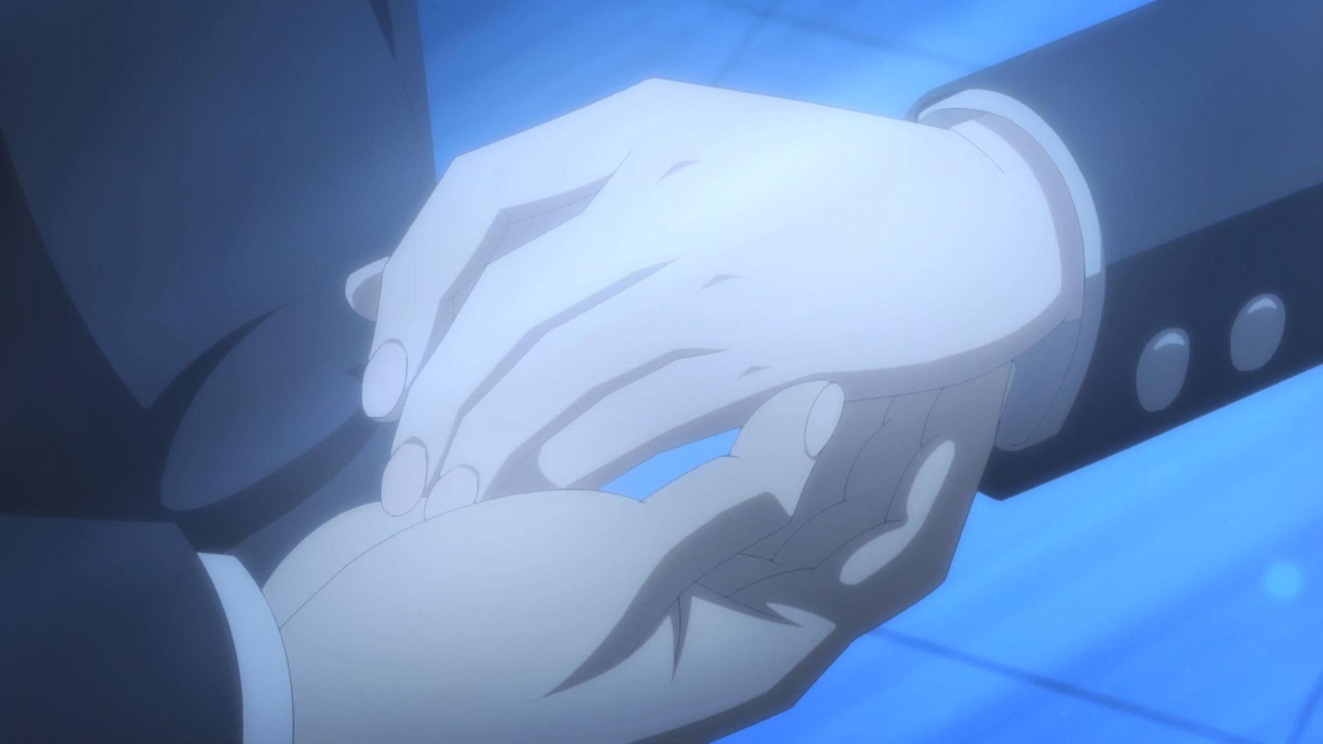 Oregairu kan episode 10 Hachiman-Yukino main uniforme 2