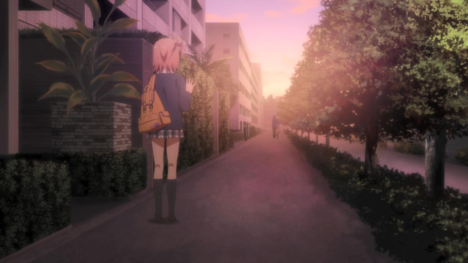 Oregairu kan episode 11 Yui au revoir