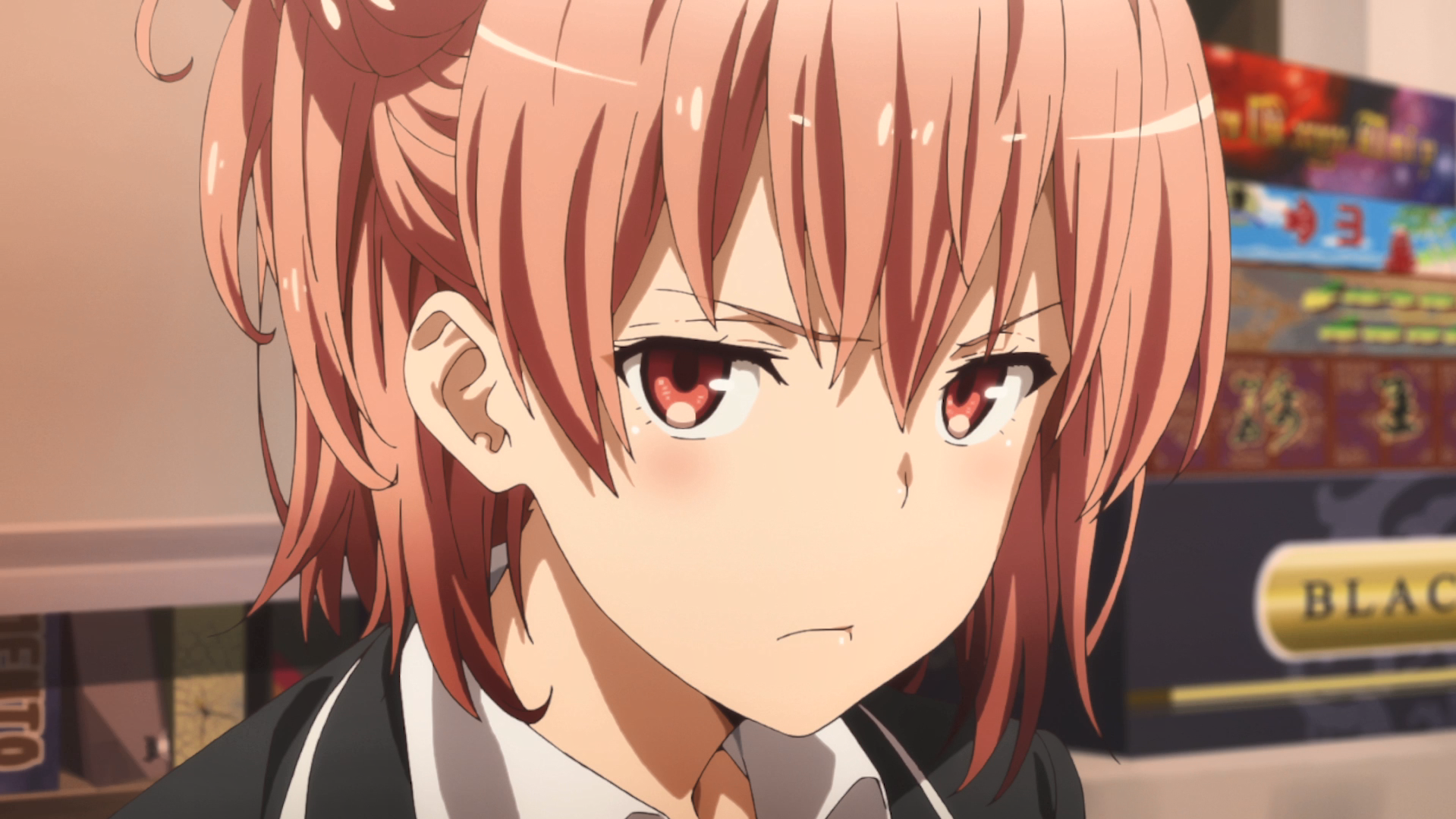 oregairu yui angry