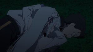 ReZero S2 12 Emilia cry
