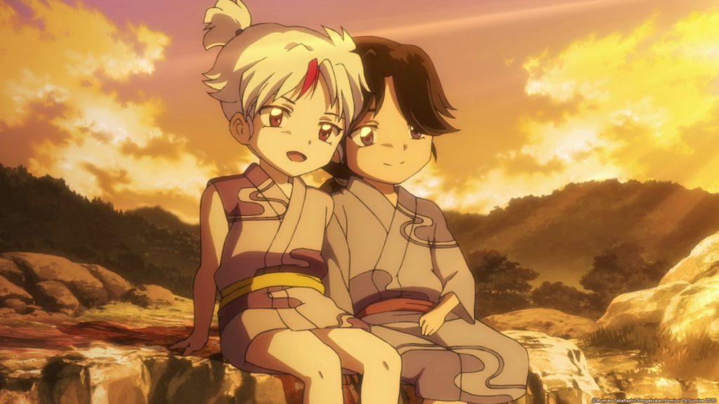 Yashahime Towa Setsuna children