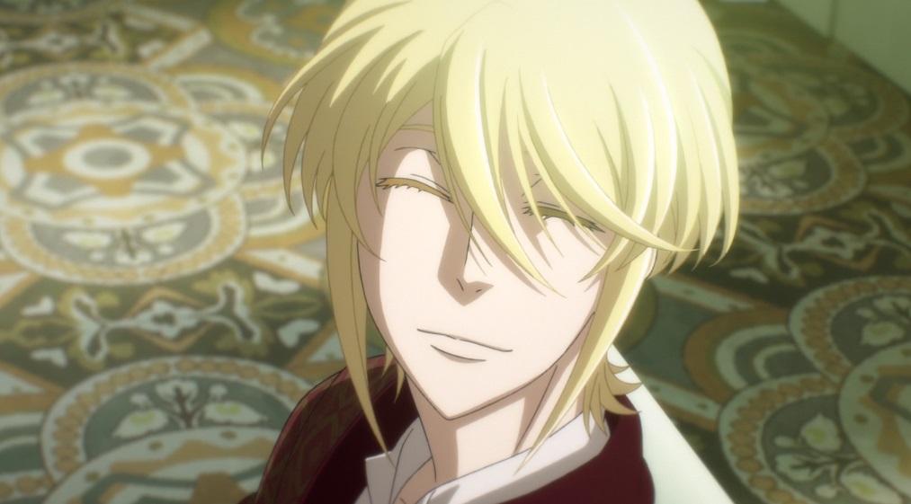 Yuukoku no Moriarty smile