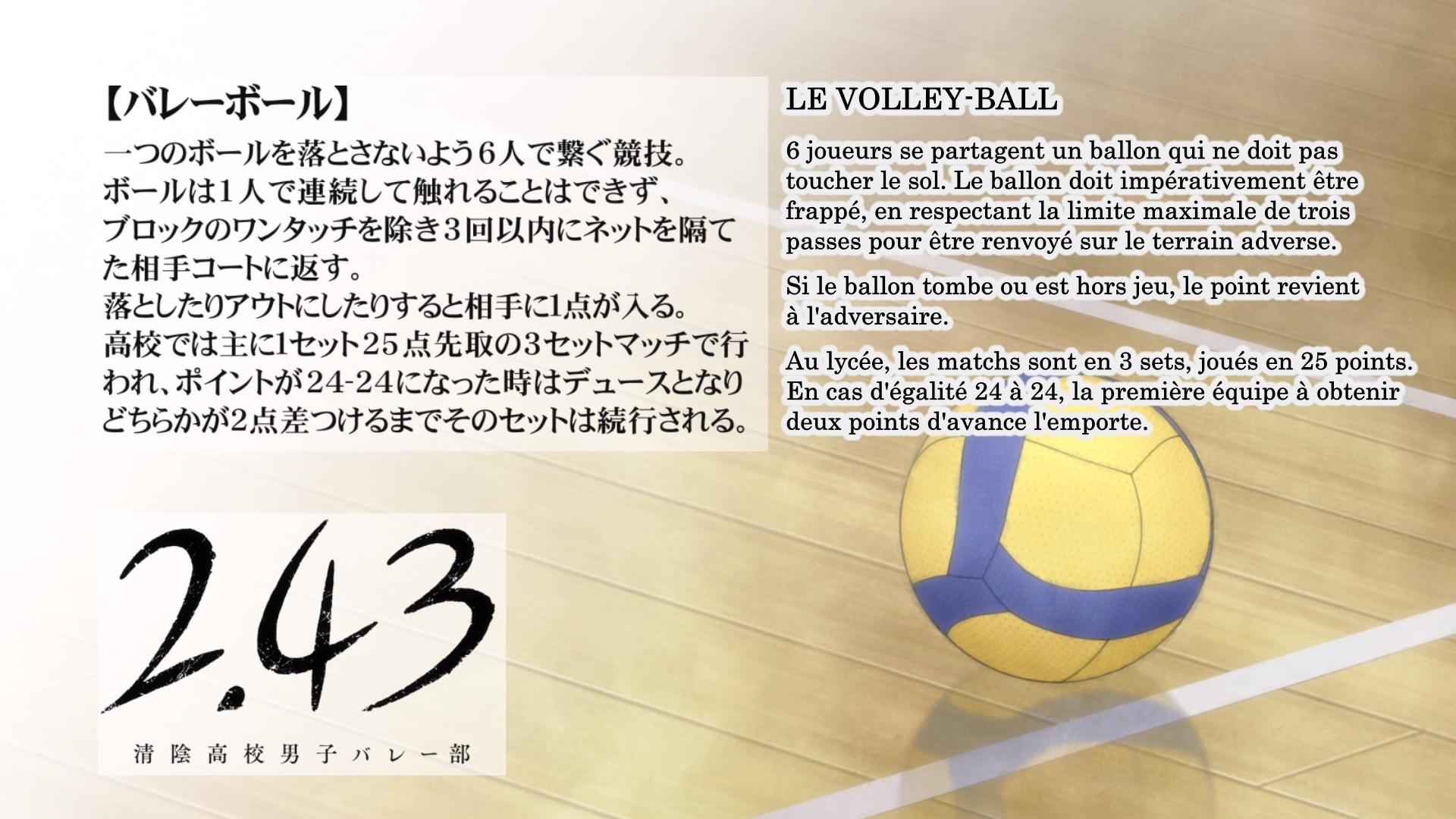 Eyecatch – 2.43: Seiin Koukou Danshi Volley-bu