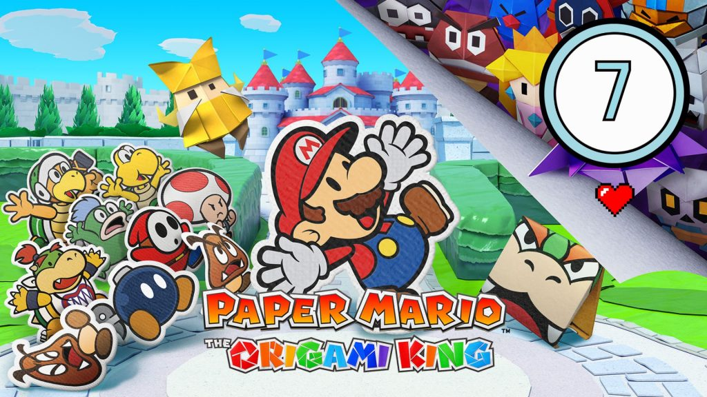 Test - Paper Mario The Origami King