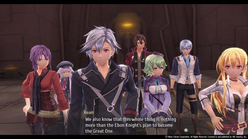 The Legend of Heroes: Trails of Cold Steel IV Curse