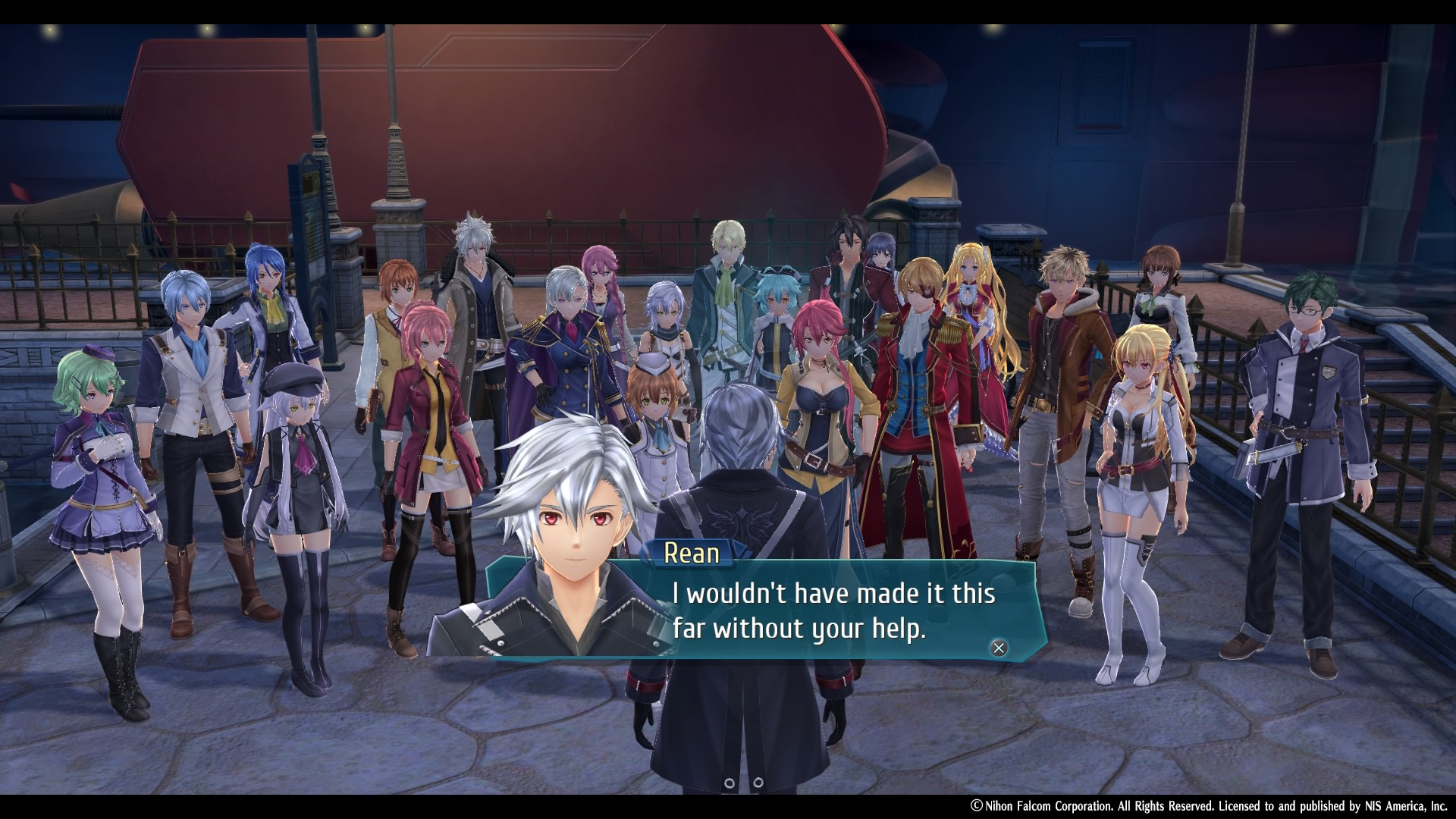 The Legend of Heroes: Trails of Cold Steel IV Classe VII