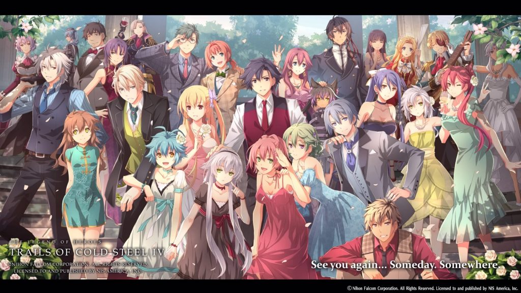 The Legend of Heroes: Trails of Cold Steel IV end wallpaper