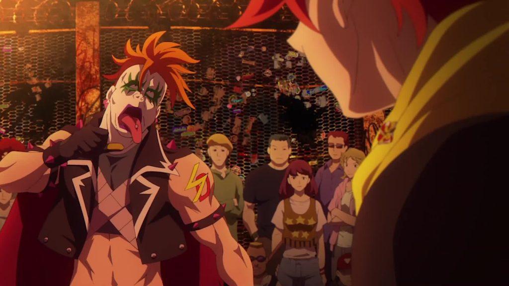SK8 the Infinity Reki Shadow public battle