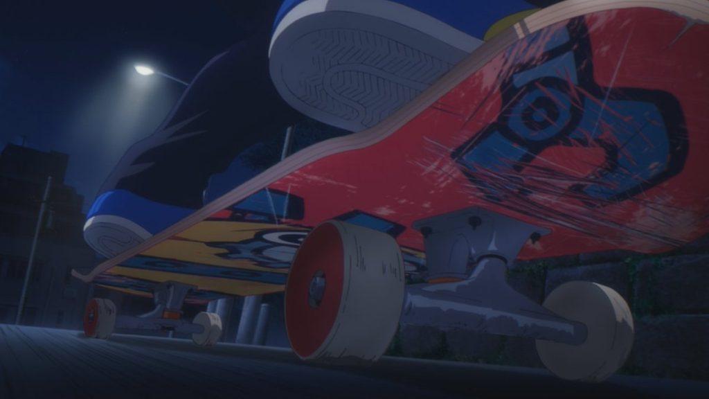 SK8 the Infinity skateboard