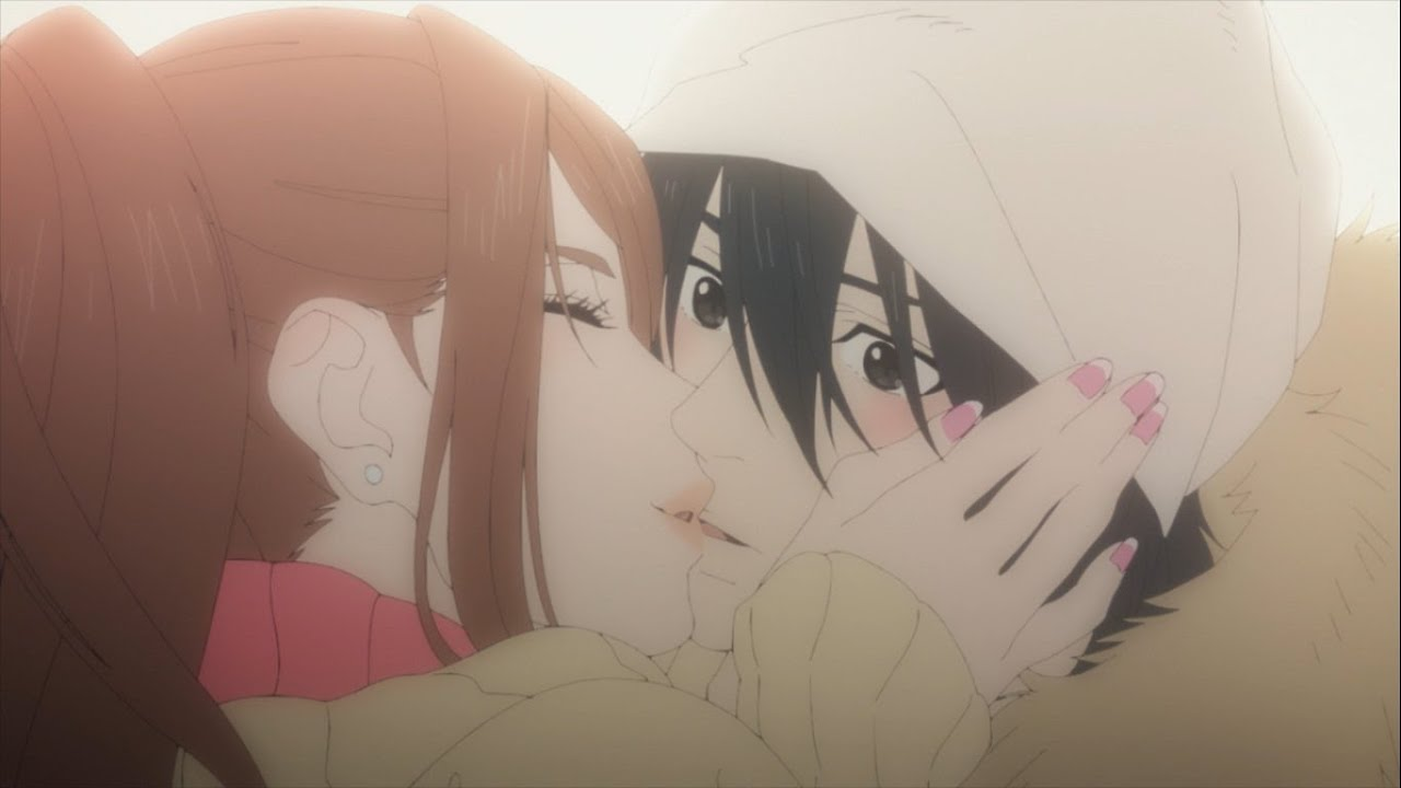 Mashiro no Oto Setsu Yuna kiss